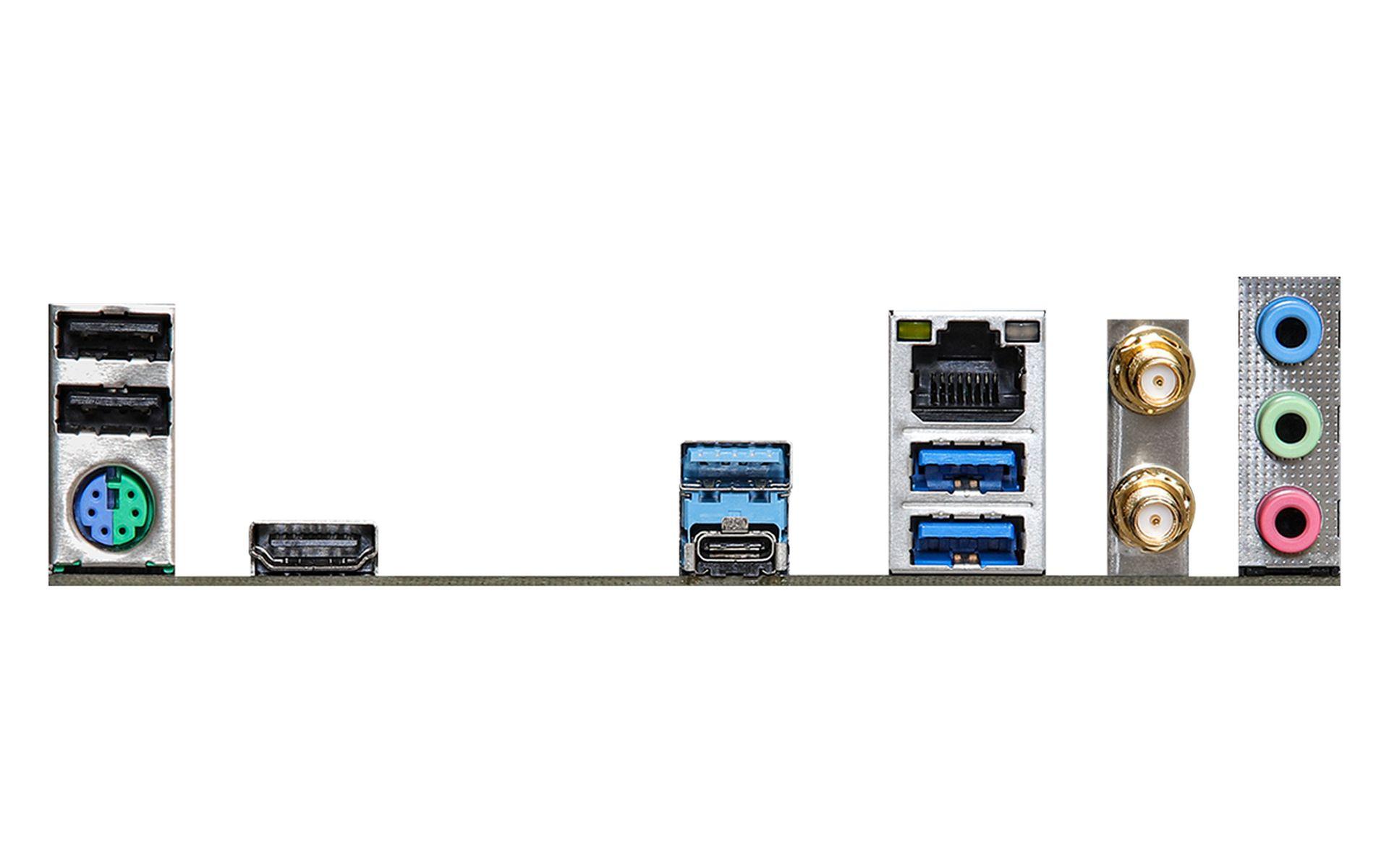 bo mạch chủ ASRock Z590 Phantom Gaming 4/ac đi kèm với mô-đun WiFi 802.11ac
