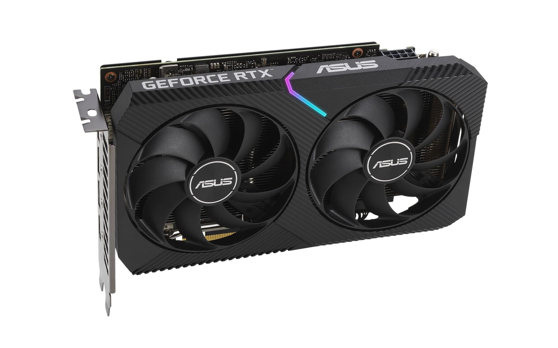 Card Màn Hình ASUS Dual GeForce RTX 3060 12GB GDDR6