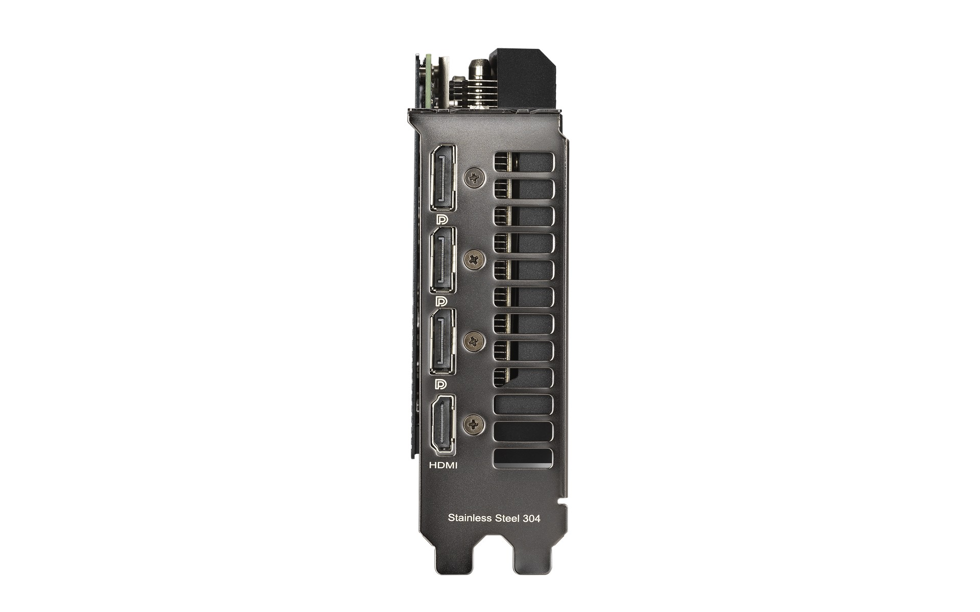 Khung gắn IO của ASUS Dual GeForce RTX 3060 12GB
