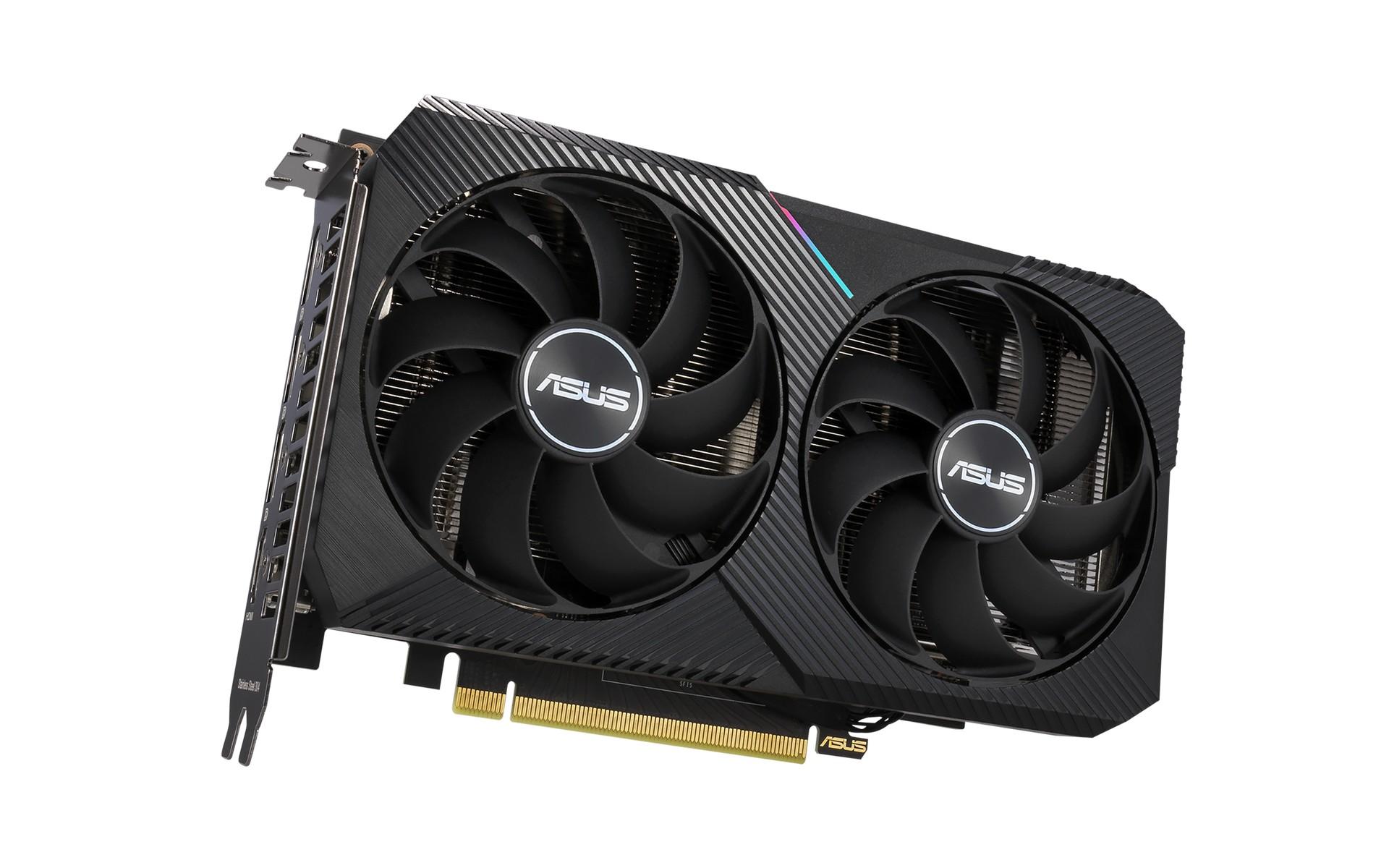 Card Màn Hình ASUS Dual GeForce RTX 3060 OC Edition 12GB GDDR6