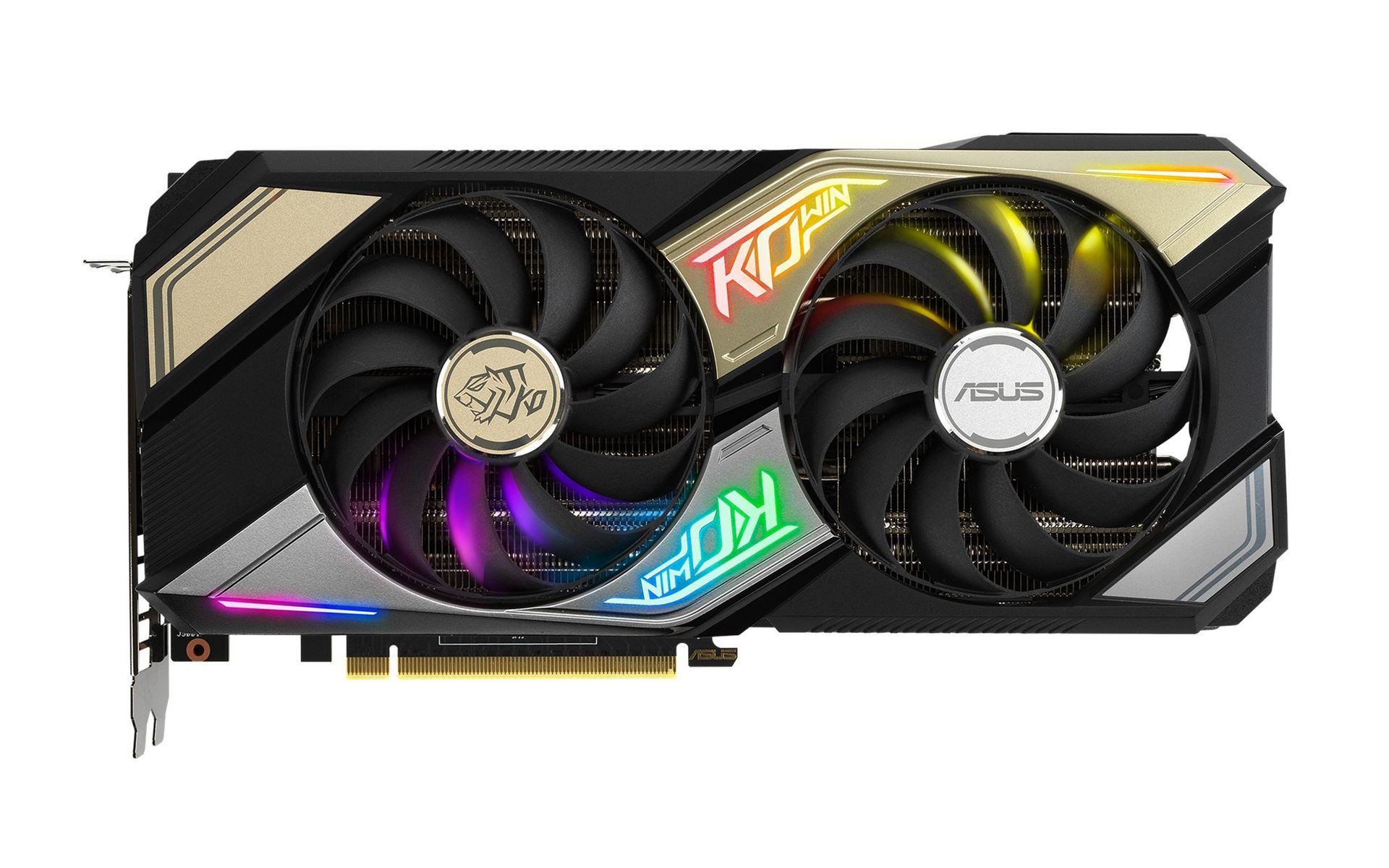 KO GeForce RTX 3070 OC Edition 8GB GDDR6 phong cách thẩm mỹ độc đáo