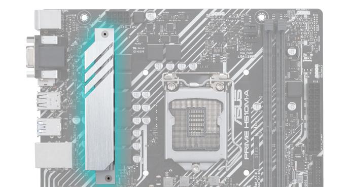 VRM Heatsink và Thermal Pad