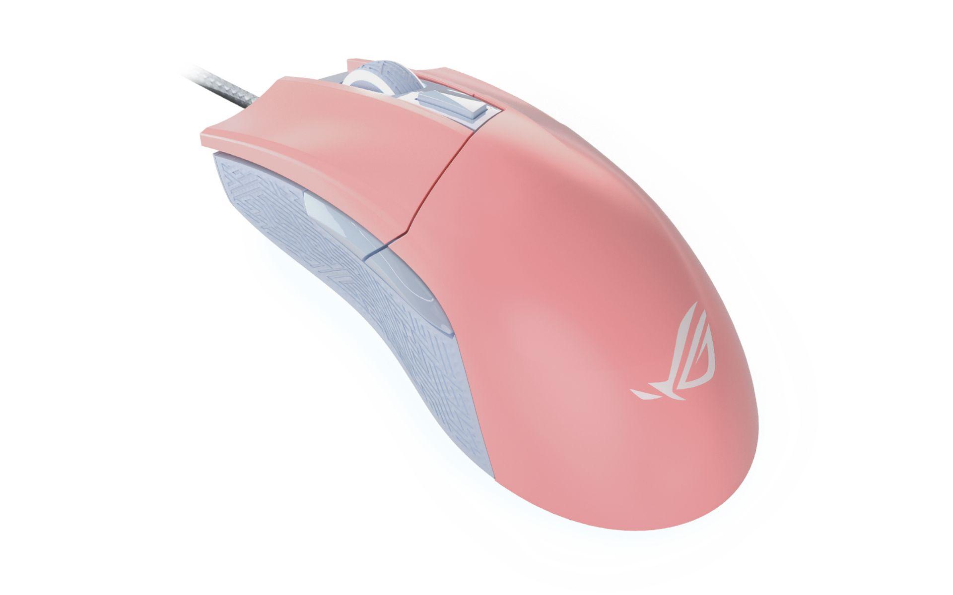 Chuột Máy Tính ASUS ROG Gladius II Pink