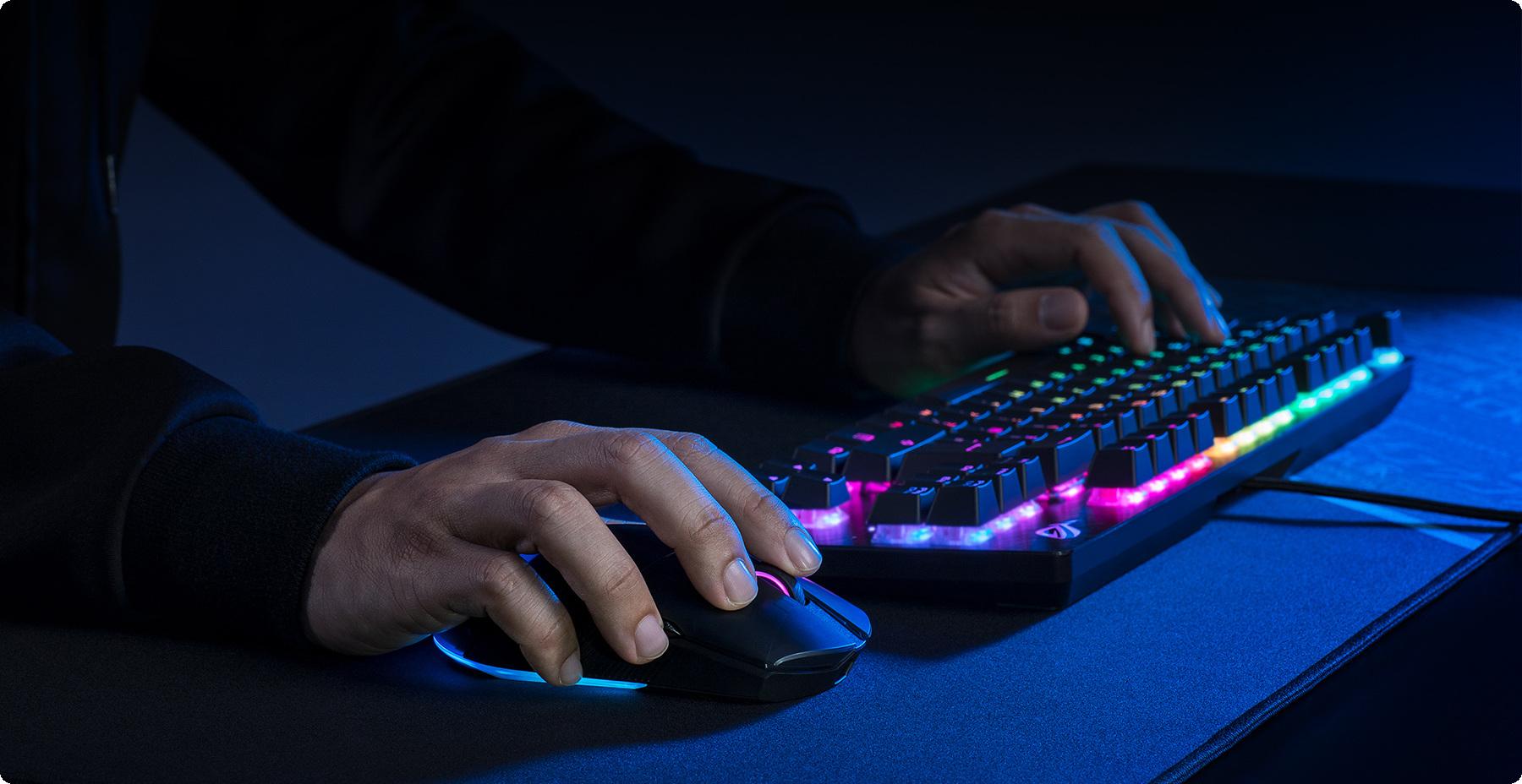 Chuột Game ROG Pugio II đem tới sự linh hoạt toàn diện