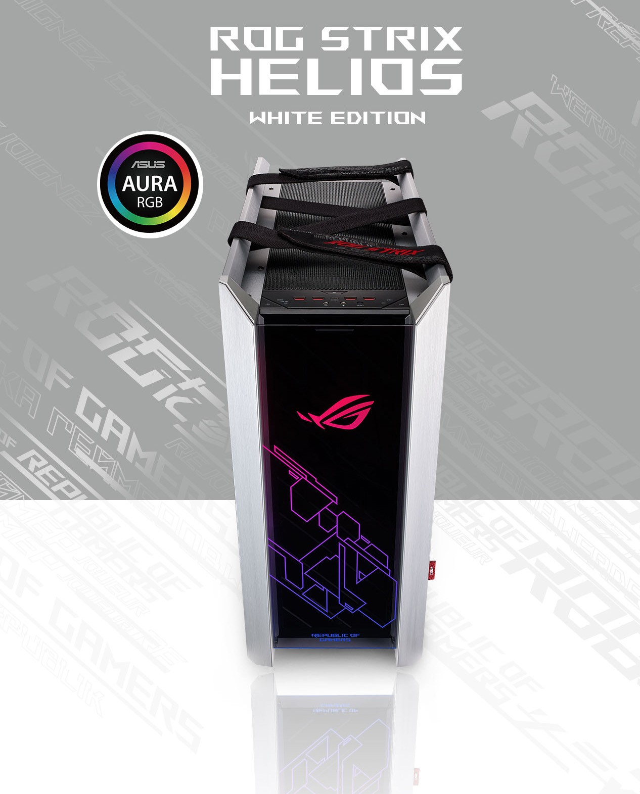 Vỏ case ASUS ROG Strix Helios GX601 White Edition