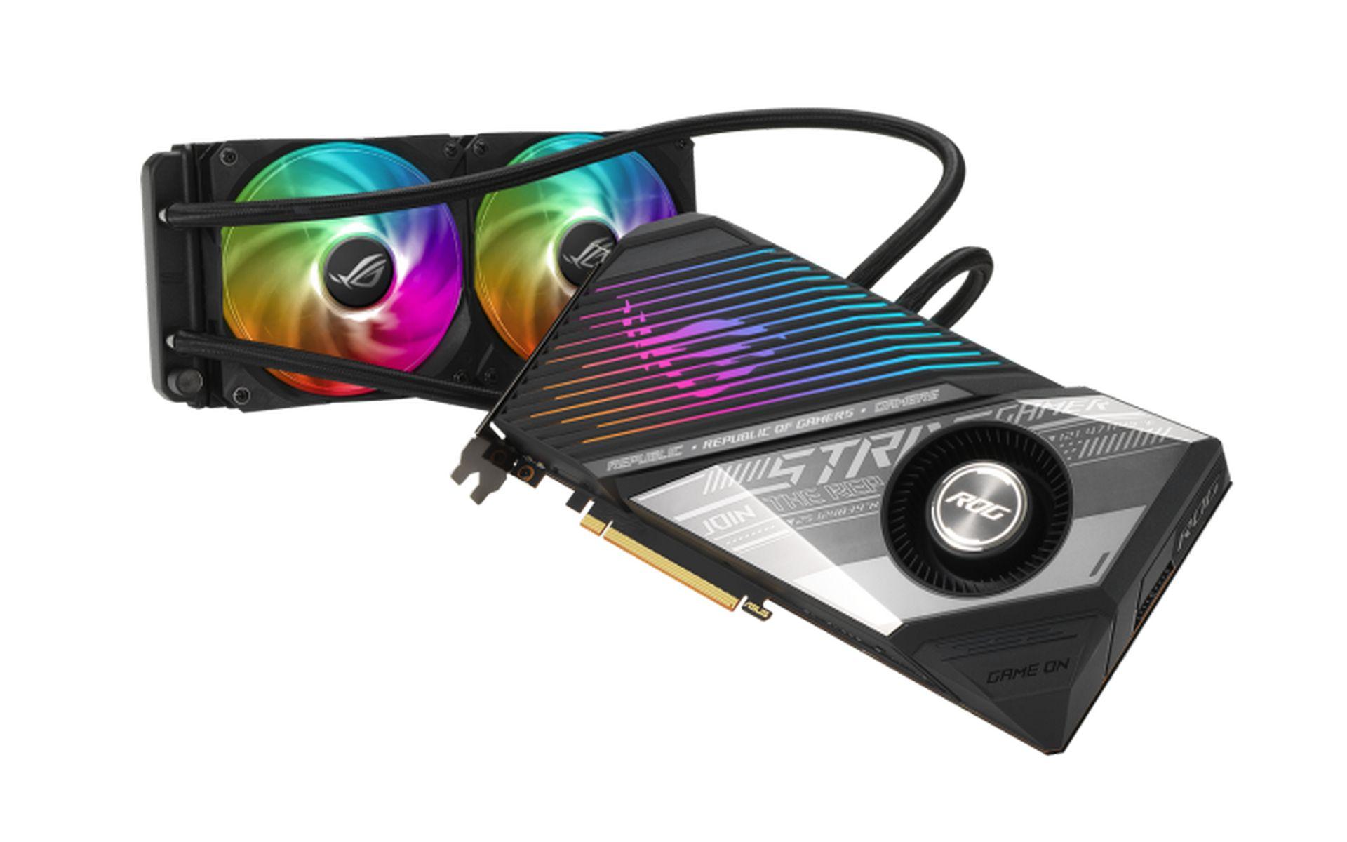 Card đồ họa ASUS ROG Strix LC Radeon RX 6800 XT