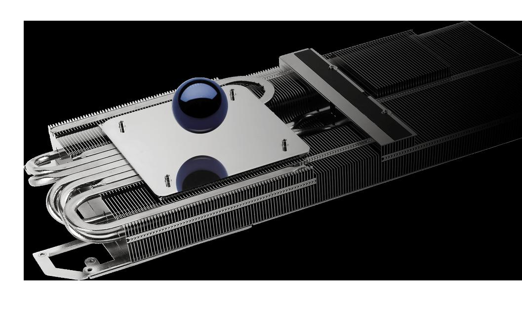 ASUS ROG Strix Radeon RX 6800 OC 16GB GAMING sử dụng quy trình sản xuất cải thiện độ nhẵn bề mặt