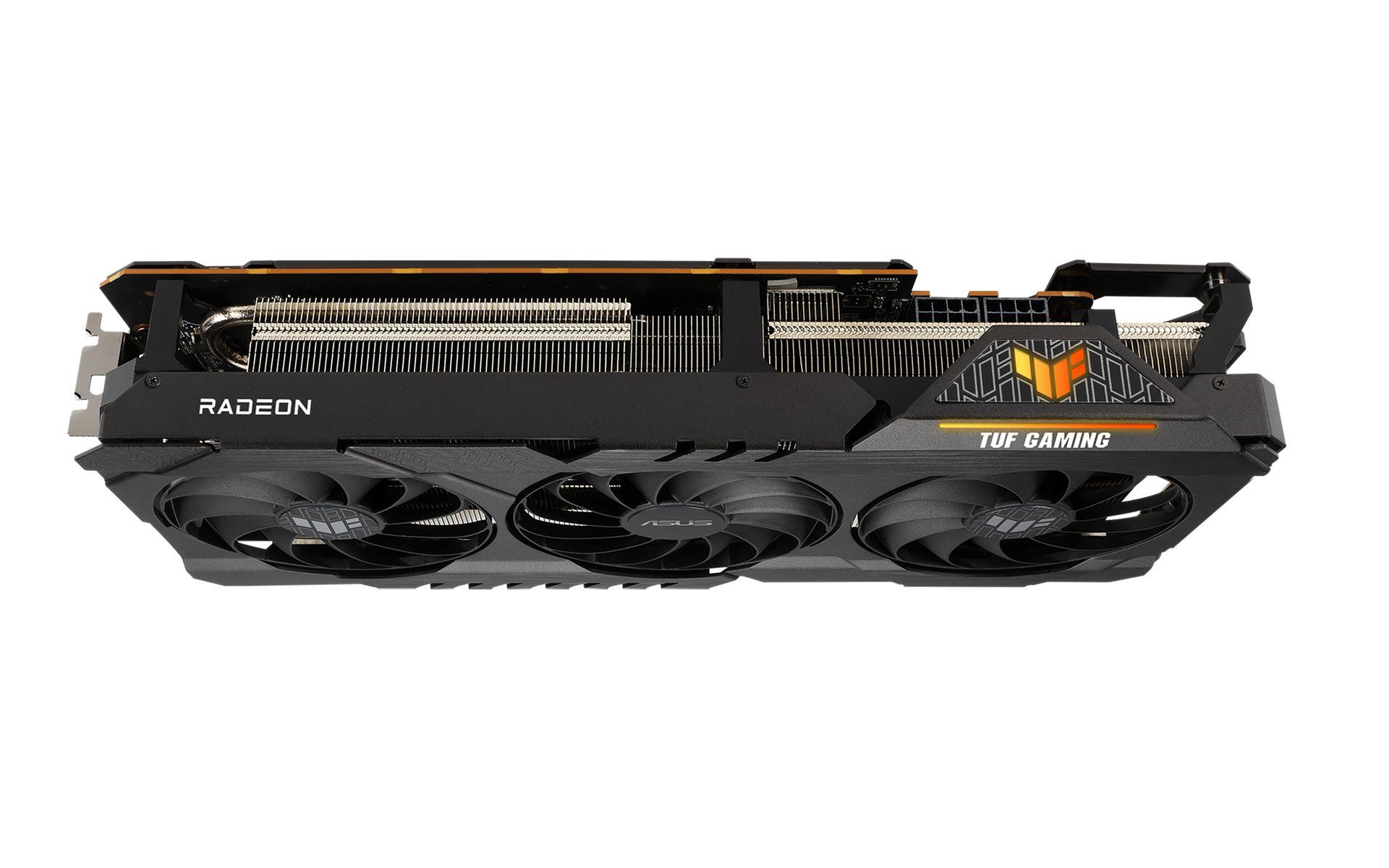 TUF RX 6800 XT OC Mặt trước nhiều chức năng