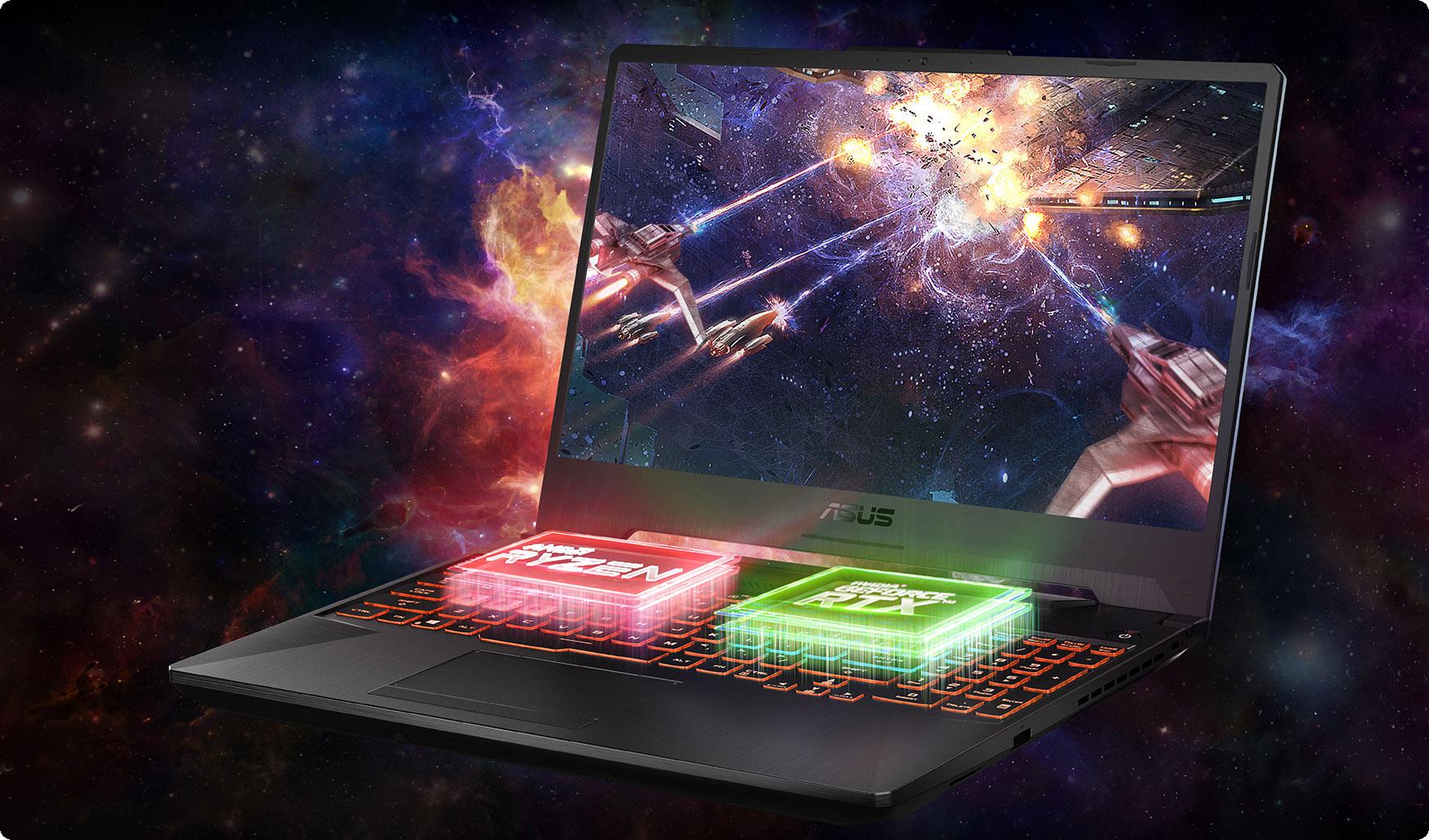 Laptop ASUS TUF Gaming FA506IV-HN202T mang đến hiệu năng đáng tin cậy