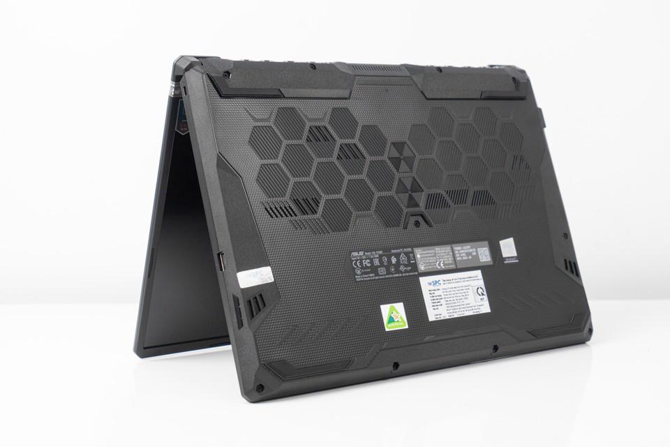 Hệ thống tản nhiệt toàn diện của ASUS TUF Gaming F15 FX506LH-HN002T