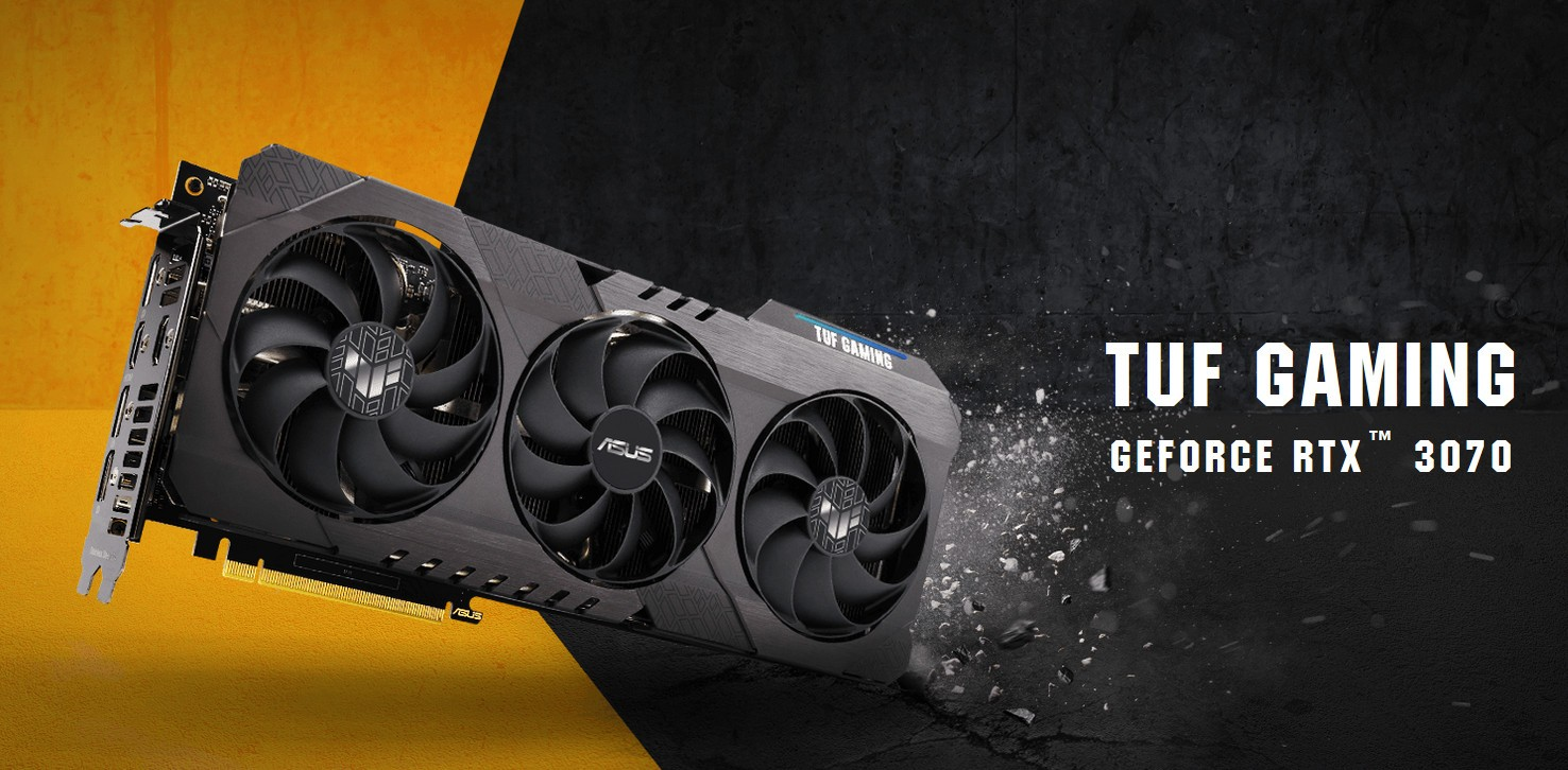 VGA ASUS TUF Gaming GeForce RTX 3070 8G