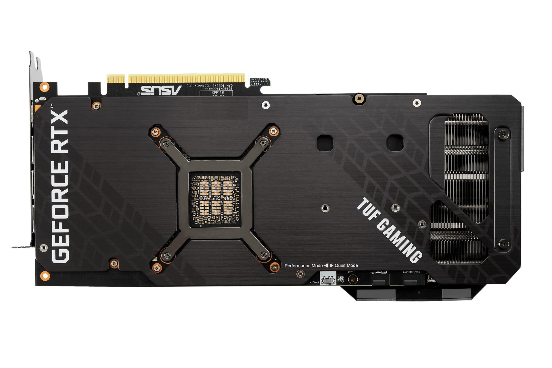 TUF Gaming GeForce RTX 3080 Ti Back