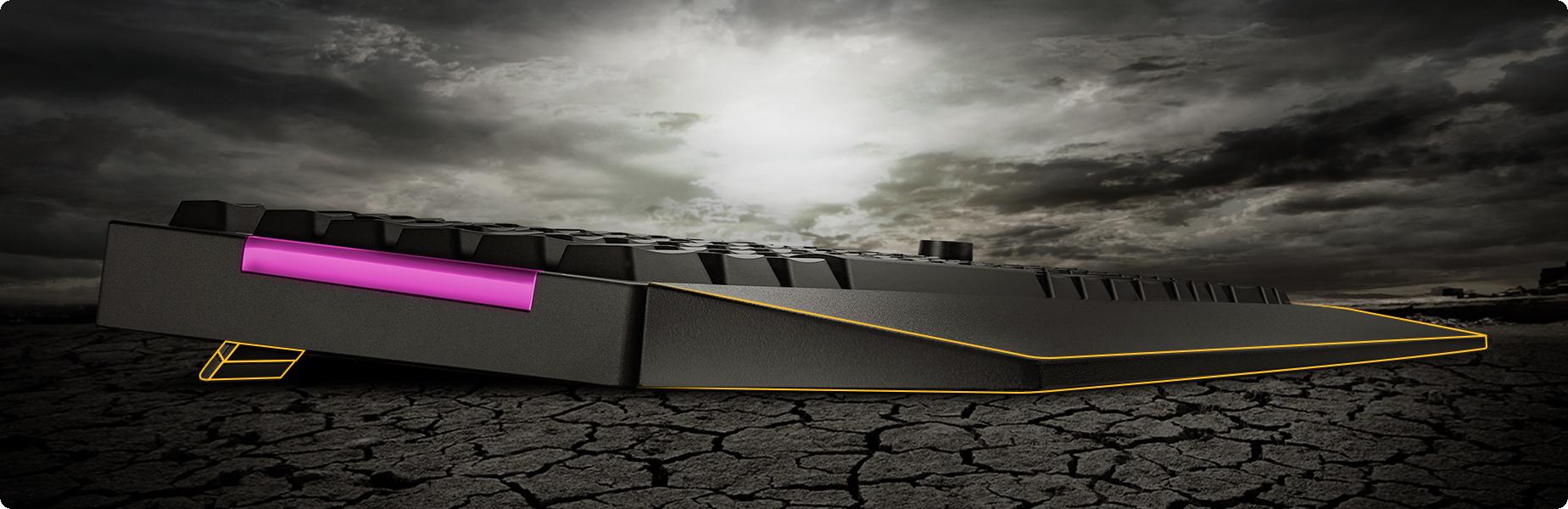 TUF Gaming K1 được thiết kế tiện dụng