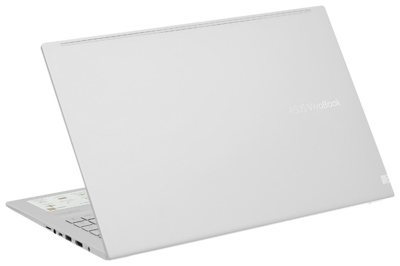 Vivobook A515EA-BQ489T với nắp kim loại màu bạc