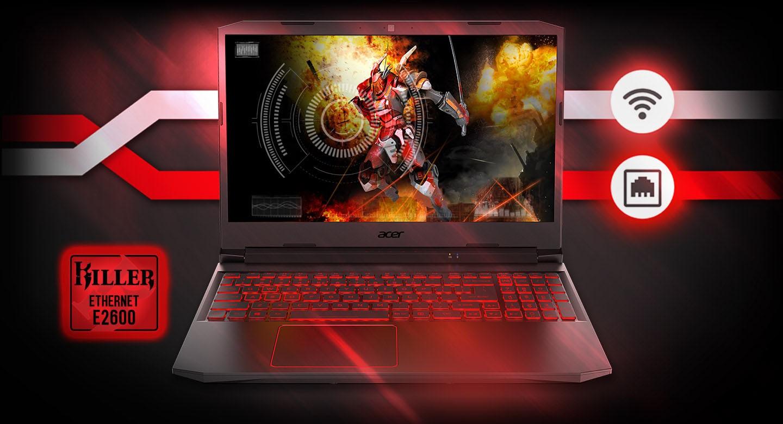 Laptop Acer Nitro 5 AN515-55-53AG tận dụng lợi thế trực tuyến