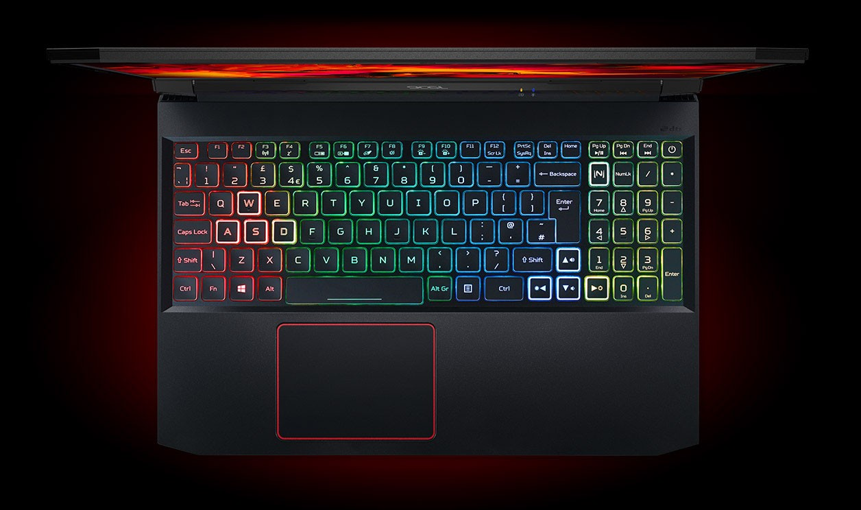 Acer Nitro 5 AN515-55-53AG thông qua phím NitroSense