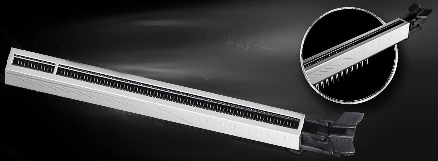 PCI-E STEEL SLOT