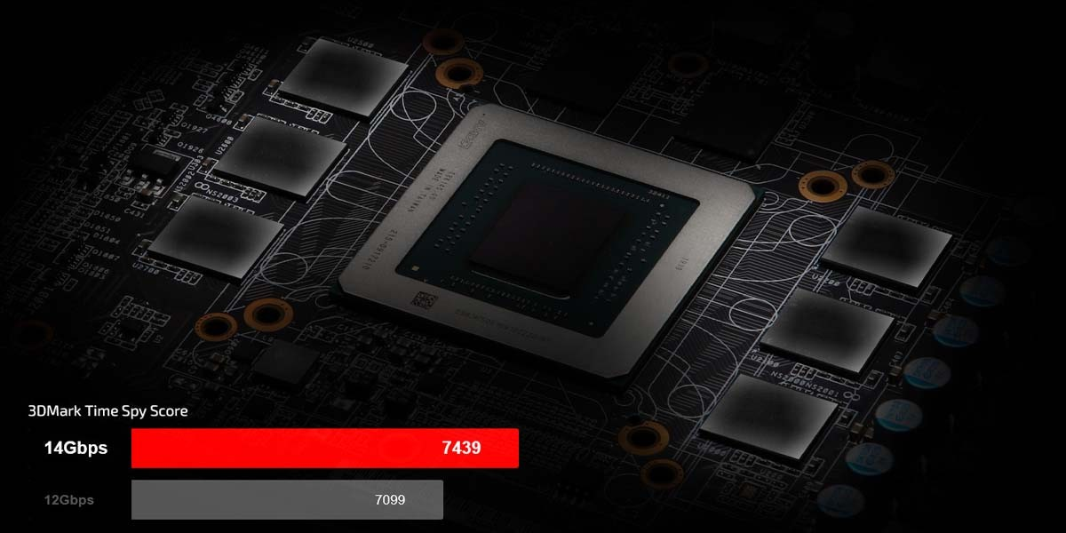 RX 5600 XT Phantom Gaming D2 6G OC ram