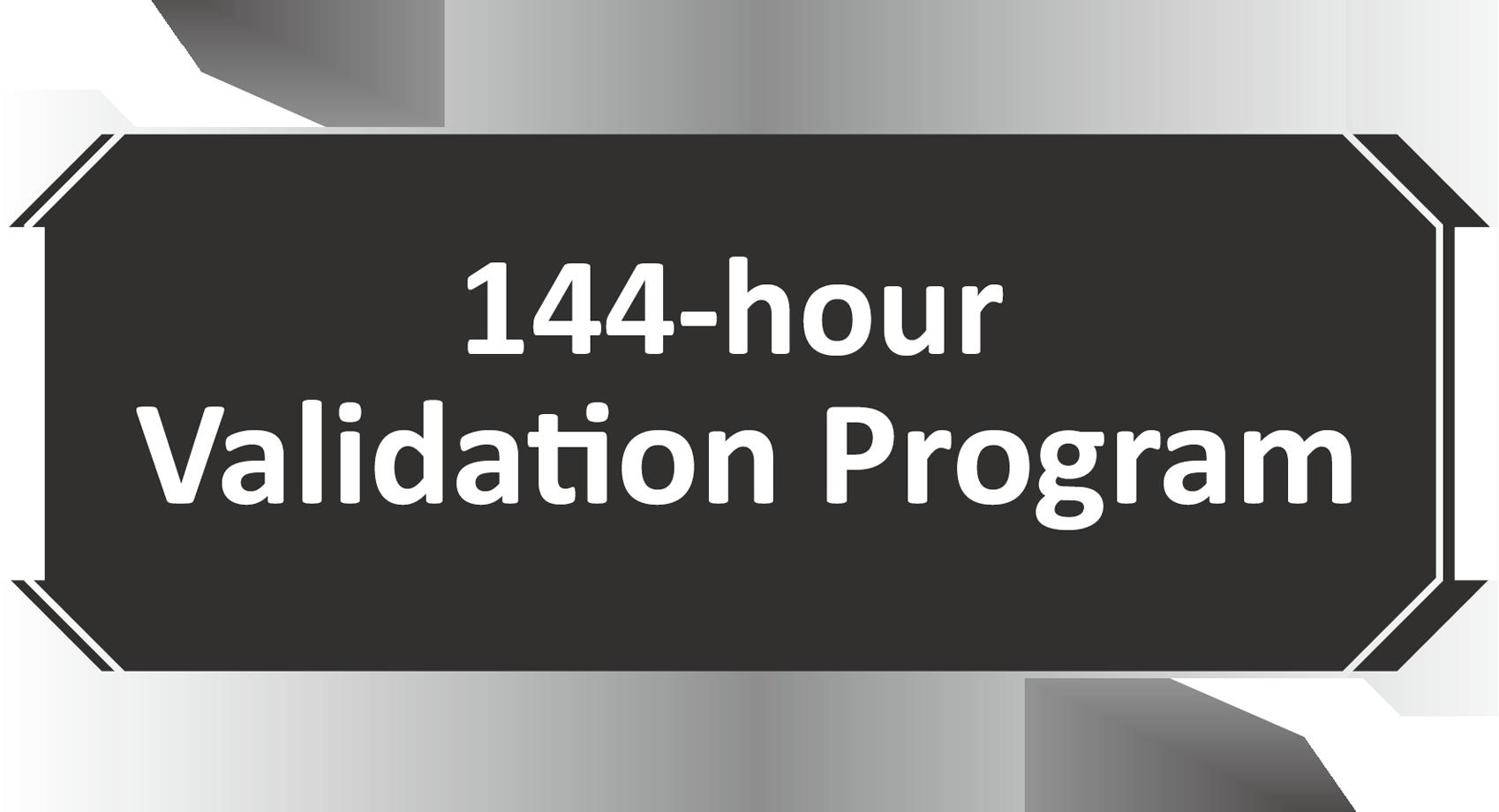 Quy trình kiểm tra 144 giờ