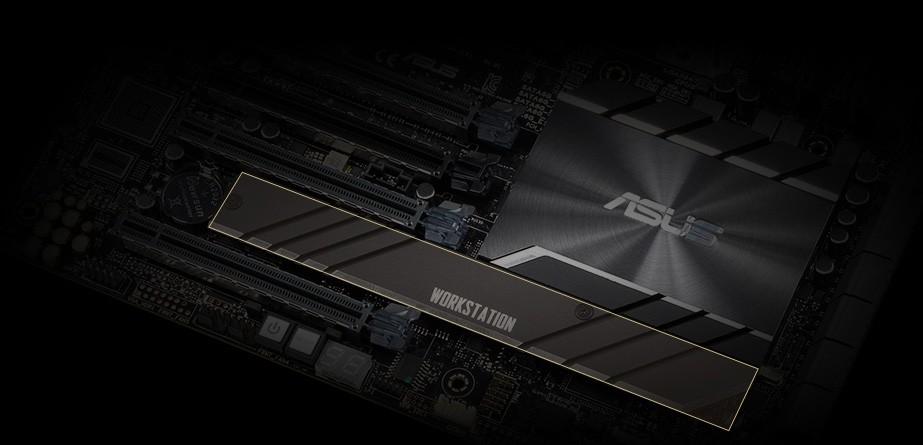 Pro WS C621-64L SAGE giảm nhiệt độ SSD M.2