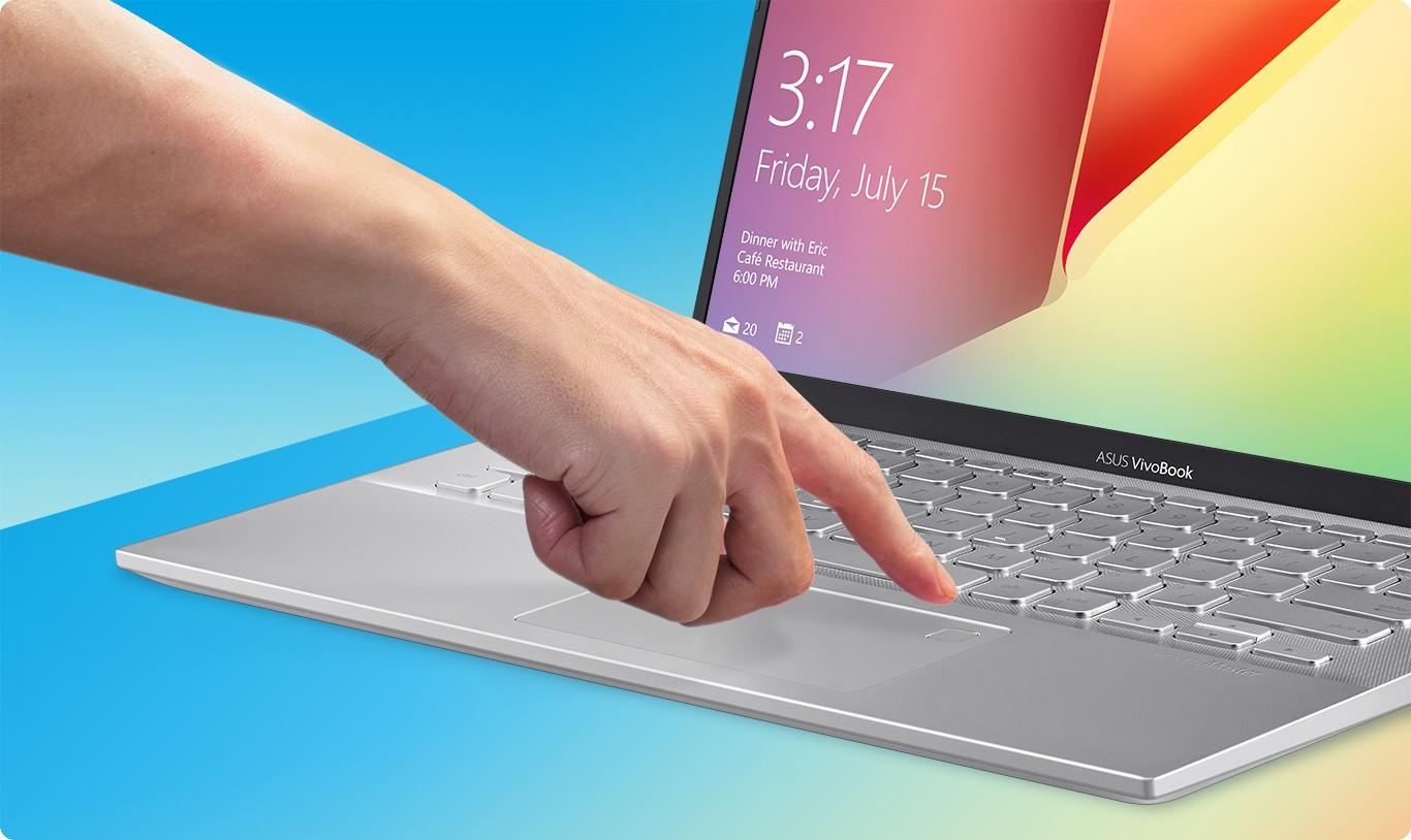 VivoBook 14 A412FJ-EK148T cùng với Windows Hello