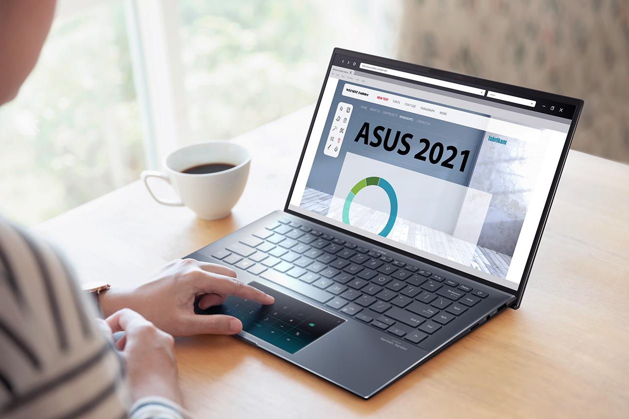 Asus ZenBook 14 UX435EG-AI099T với hiệu năng toàn diện ưu việt