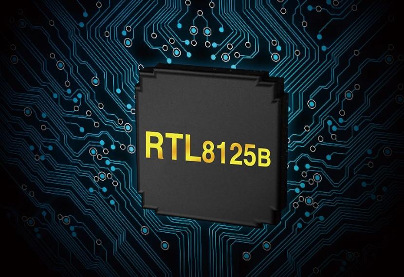 Kết nối mạng nhanh với Realtek RTL8125B 2.5Gb Ethernet