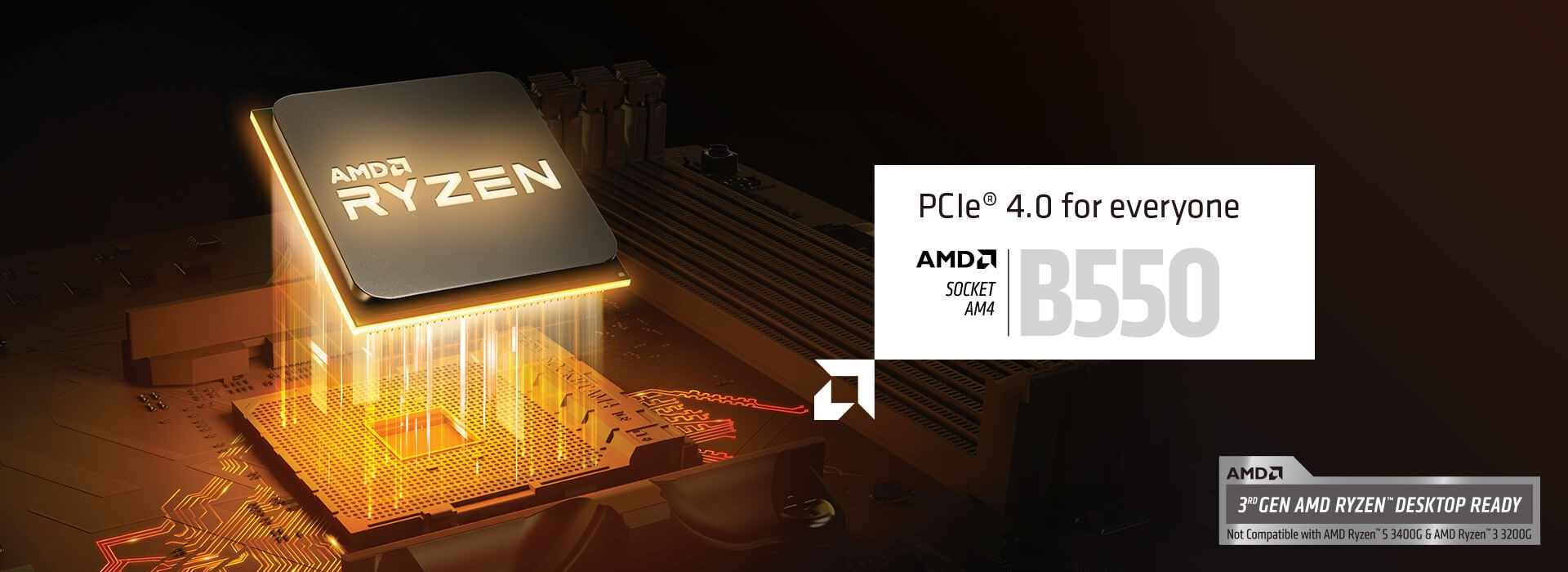 B550 PCIe 4.0 For everyone