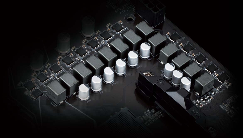 Giải pháp VRM kỹ thuật số thuần túy 10 + 3 pha với Low RDS(on)MOSFETs