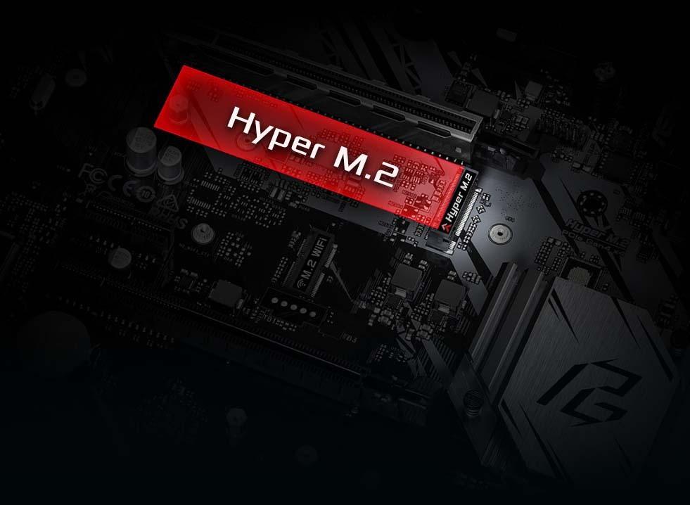 Hyper M.2 (PCIe Gen4 x4)