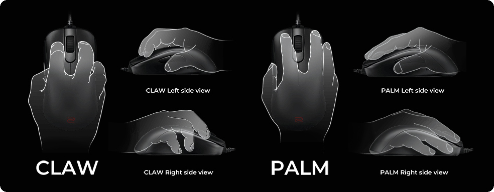 Thiết kế đối xứng thuận tay phải