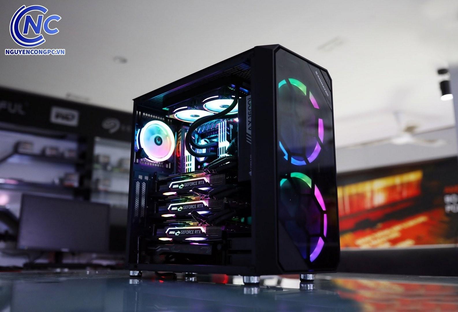 Bộ PC Ai (Deep Learning) i9 10900x case