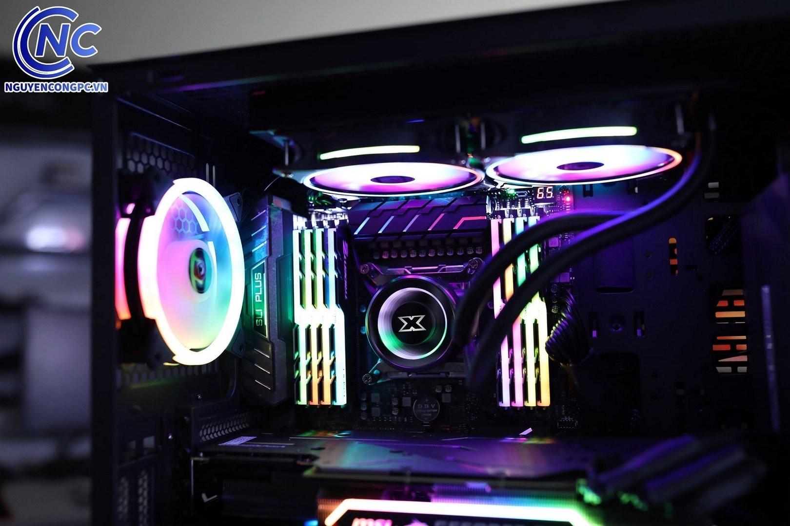 Bộ PC Ai (Deep Learning) i9 10900x tan