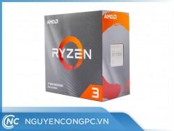 CPU AMD Ryzen 3 3100 (3.6GHz Boost 3.9GHz   4 Cores / 8 Threads   16MB Cache   PCIe 4.0)