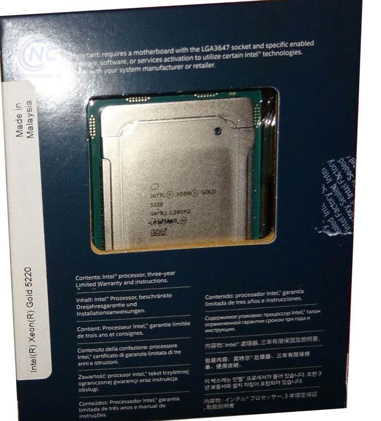 CPU Intel Xeon Gold 5220