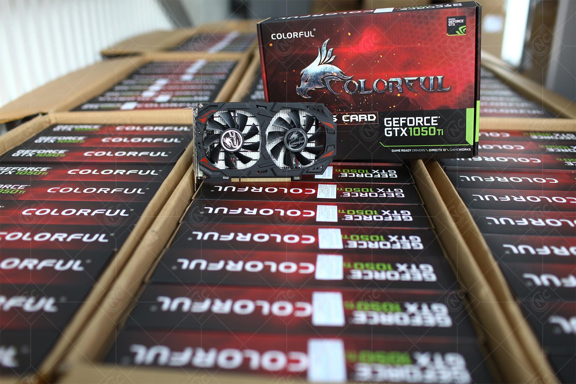 Card Màn Hình Colorful GTX 1050Ti 4G GDDR5 NE