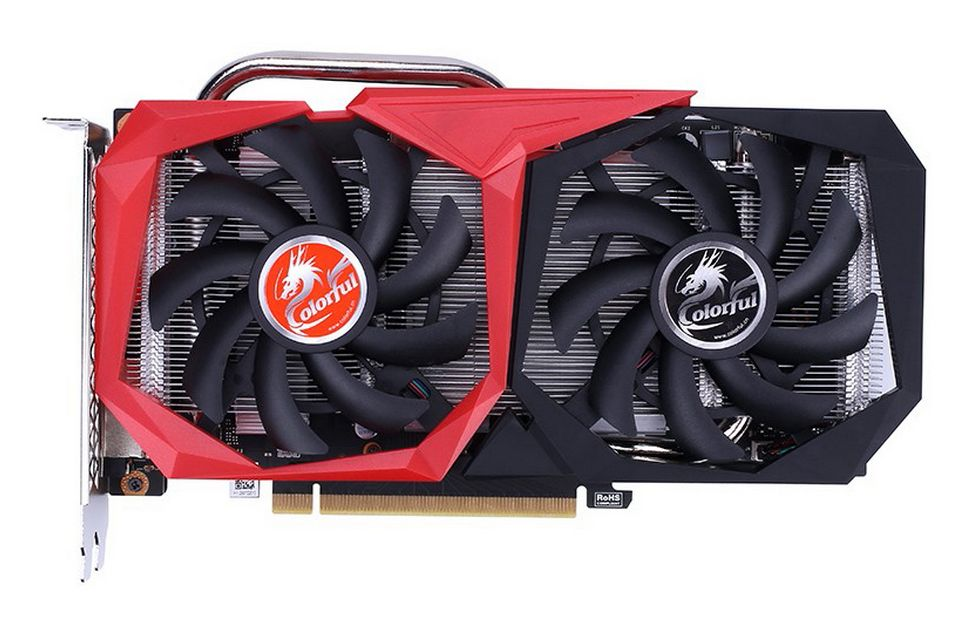 Card đồ họa Colorful GTX 1650 EX 4GD6-V