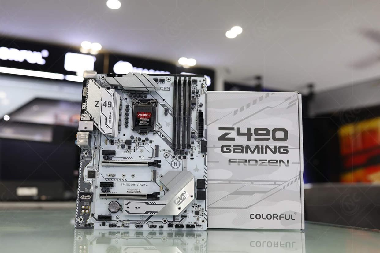 Mainboard Colorful Z490 Gaming Frozen