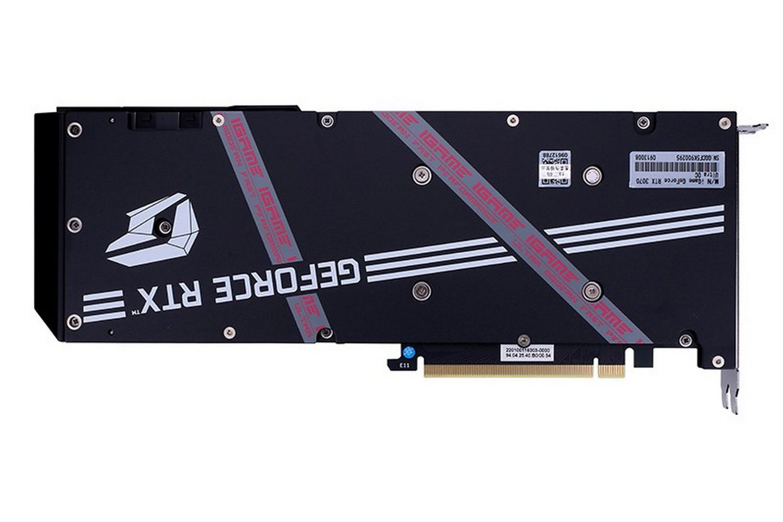 Card đồ họa Colorful iGame RTX 3070 Ultra OC-V back