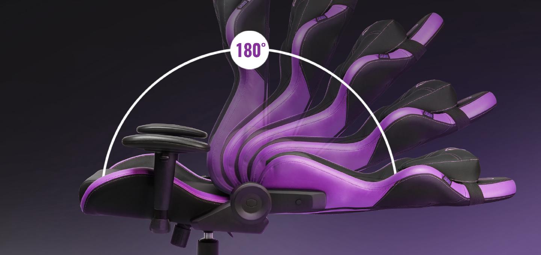 Caliber R2 CM Purple cho phép bạn nghỉ ngơi lấy lại sức ngay tại chỗ