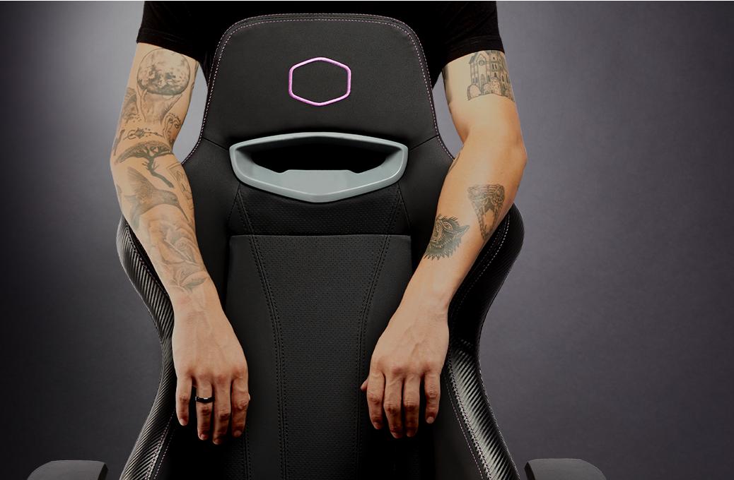 Cooler Master Caliber X1 là mẫu ghế chơi game mang tính siêu phẩm