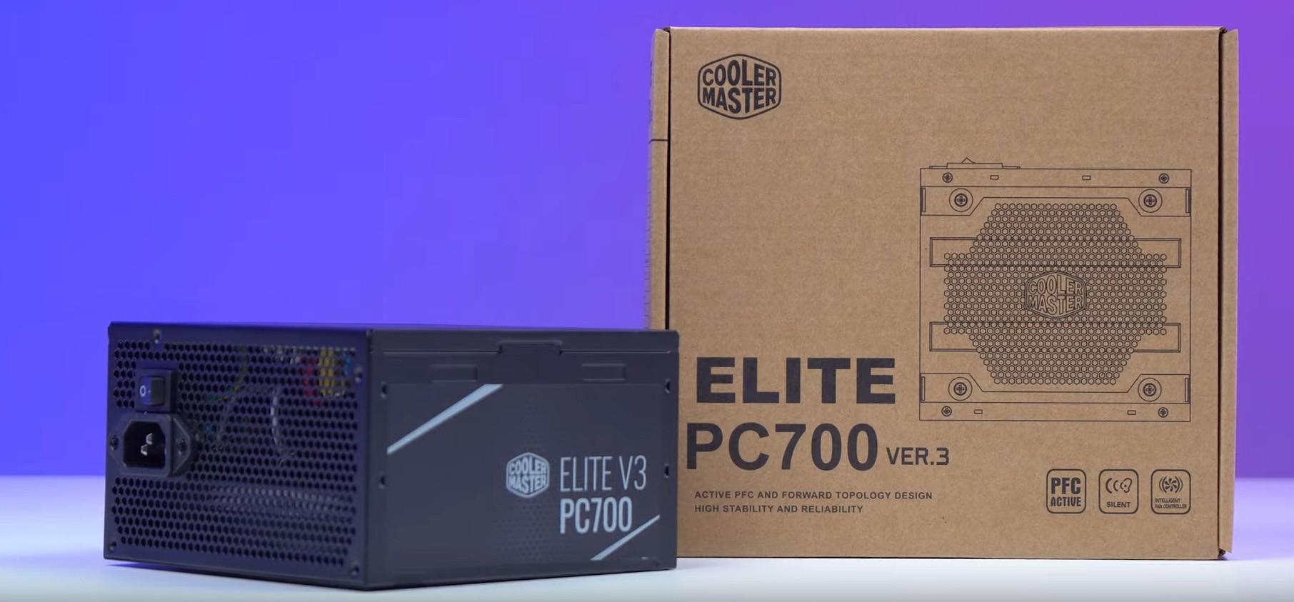 Nguồn Cooler Master Elite V3 PC700 - 230V - 700W