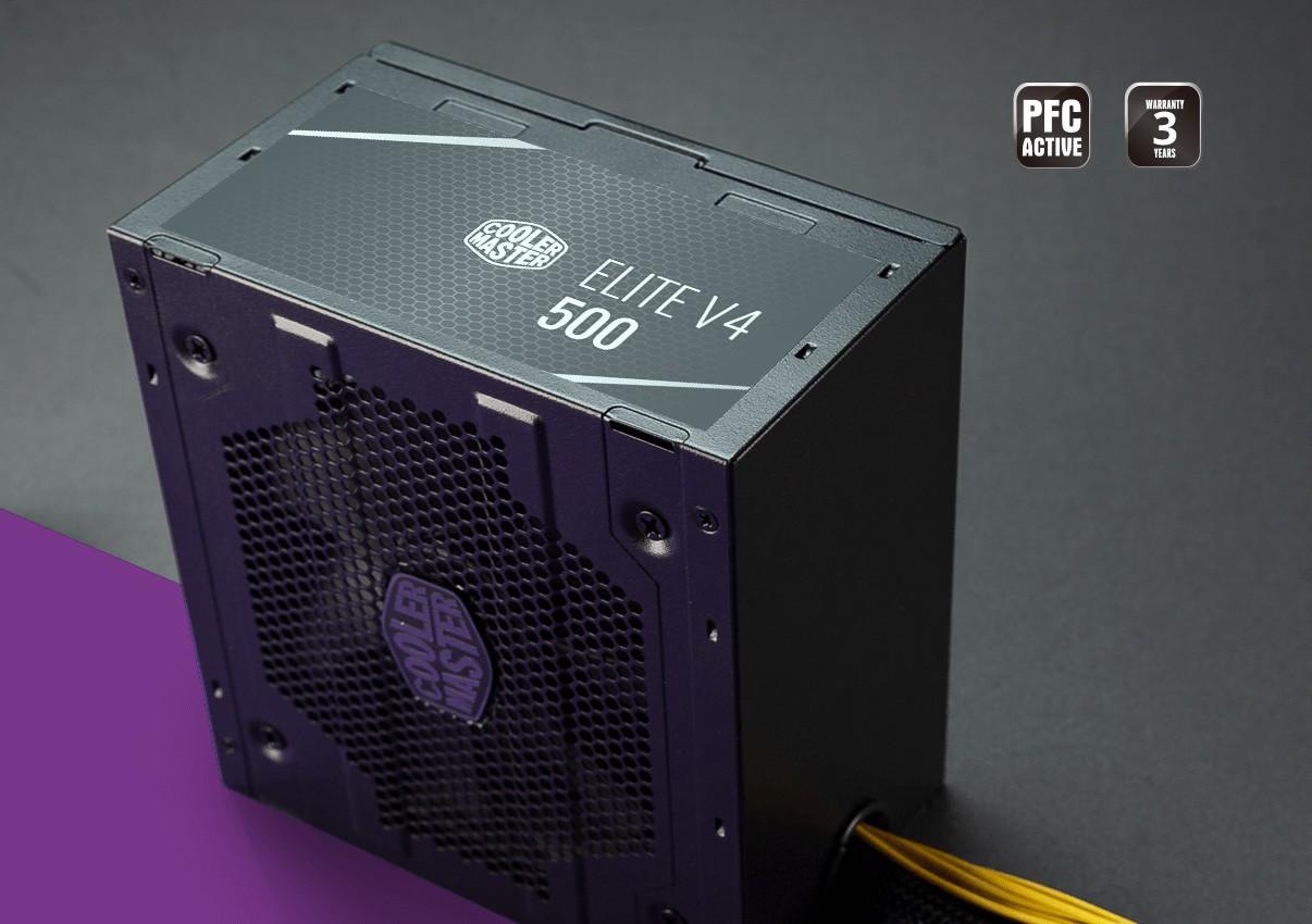 Nguồn Cooler Master Elite V4 500 - 230V - 80 Plus White