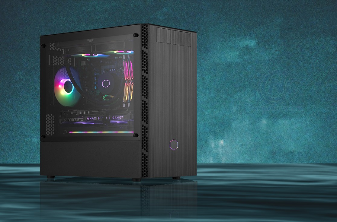 Vỏ Case Cooler Master MasterBox MB400L with ODD