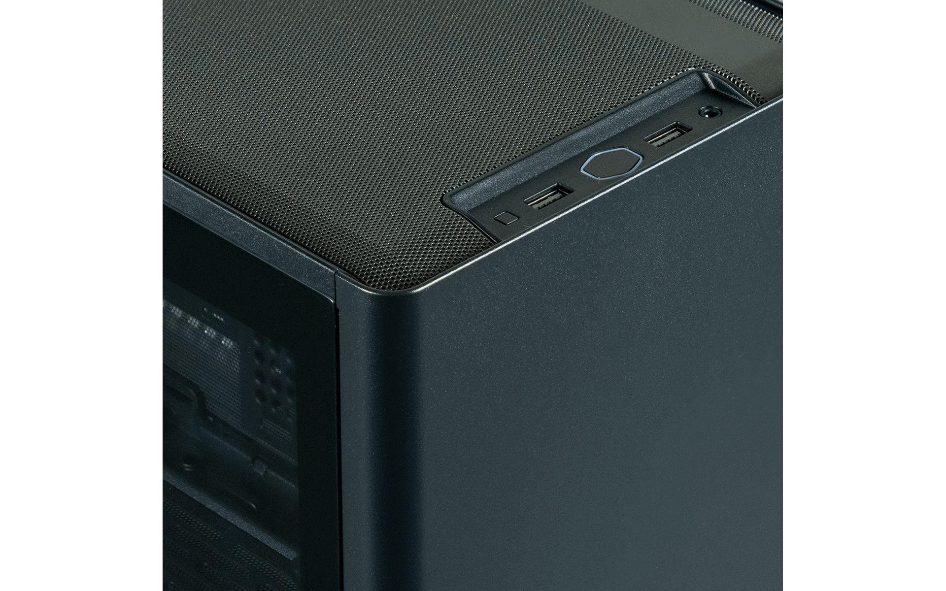Case Cooler Master MasterBox NR200P Black sử dụng thép mạ SGCC