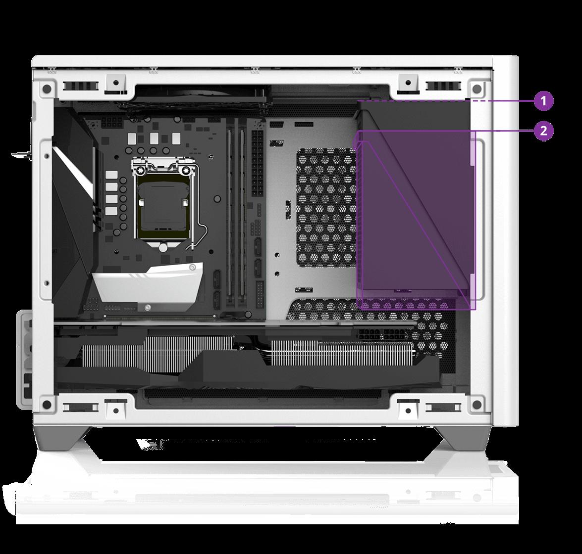 Ngàm gắn PSU ATX có thể in 3D
