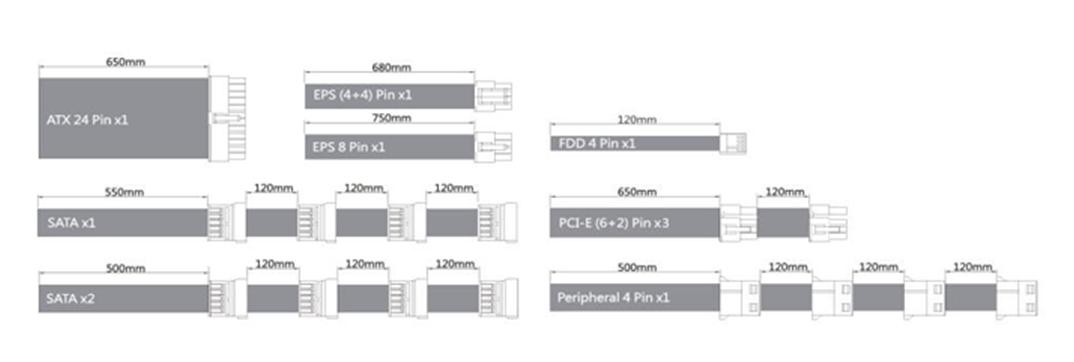 Nguồn Cooler Master V850 Platinum cap