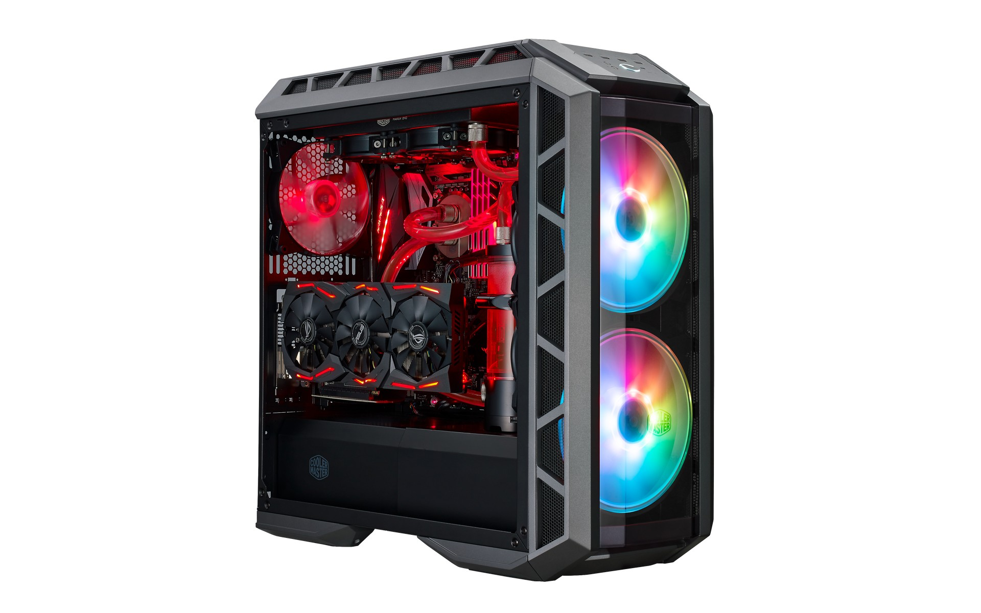 MasterCase H500P ARGB kính cường lực