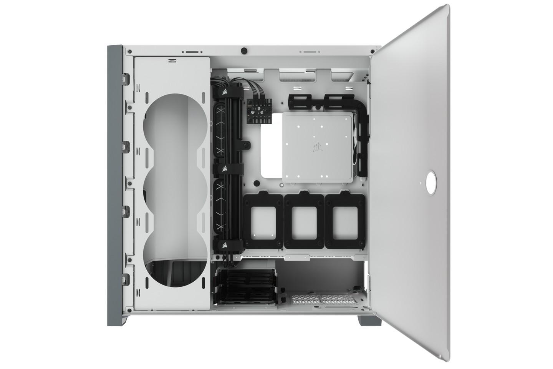 Corsair 5000D White Tempered Glass Hông