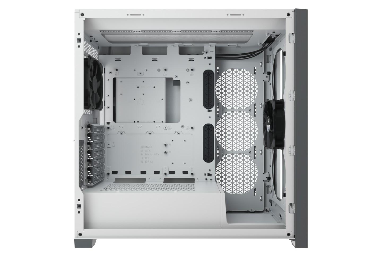 Corsair 5000D White Tempered Glass Nội thất rộng rãi